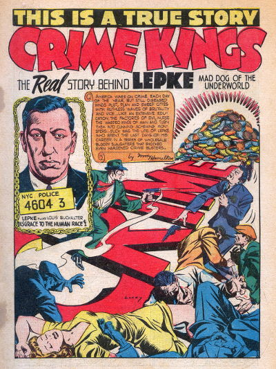 Crime Kings splash page