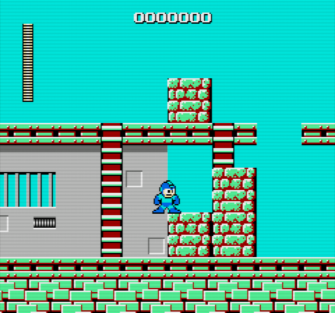 Cut Man Stage -- Mega Man