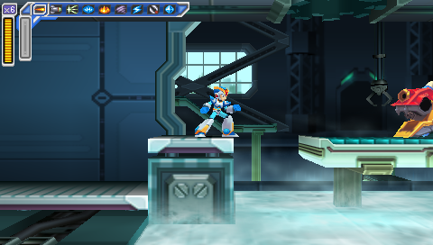 Flame Mammoth Stage -- Mega Man: Maverick Hunter X