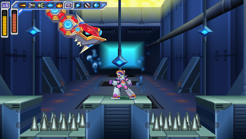 Launch Octopus Stage -- Mega Man: Maverick Hunter X