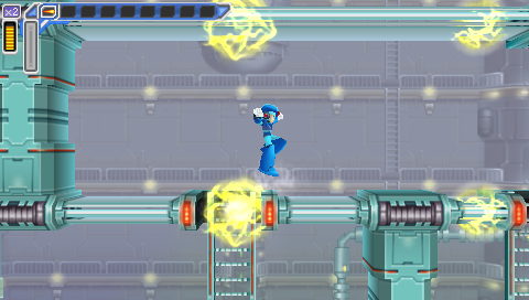 Spark Mandrill Stage -- Mega Man: Maverick Hunter X