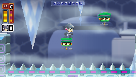 Ice Man Stage -- Mega Man Powered Up