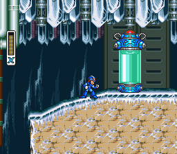 Chill Penguin Stage -- Mega Man X