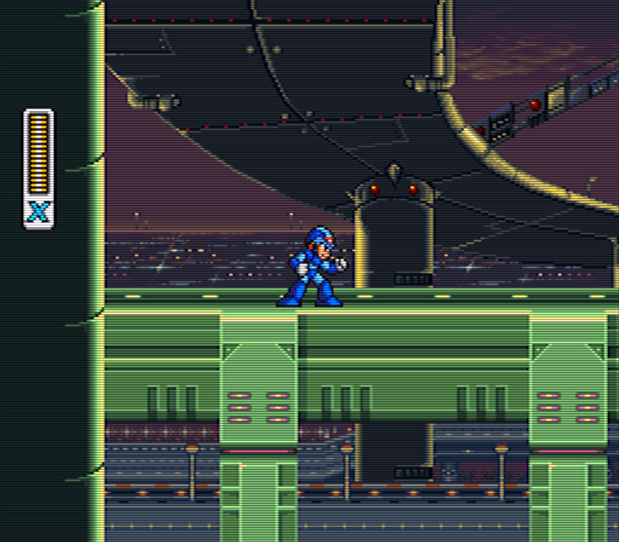 Highway Stage -- Mega Man X