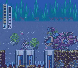 Launch Octopus Stage -- Mega Man X