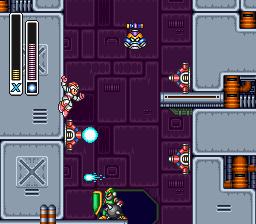 Sigma's Fortress -- Mega Man X