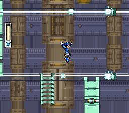 Spark Mandrill Stage -- Mega Man X